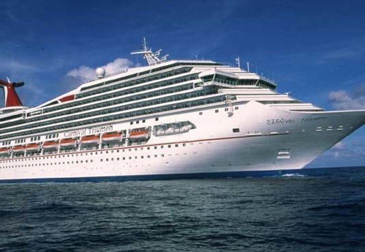 La Carnival es una de las líneas de cruceros que viajan a Yucatán. (Agencias)