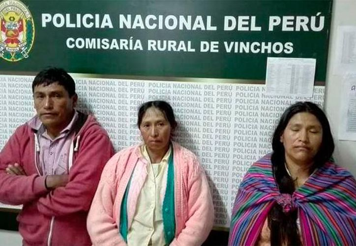 Los sospechosos fueron capturados por la Policía Nacional, y ya están en manos de las autoridades correspondientes. (Internet)