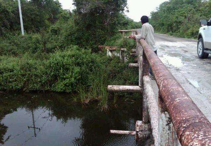 Autoridades estatales vigilan posibles aumentos en el nivel del caudal del Río Hondo. (Harold Alcocer/SIPSE)