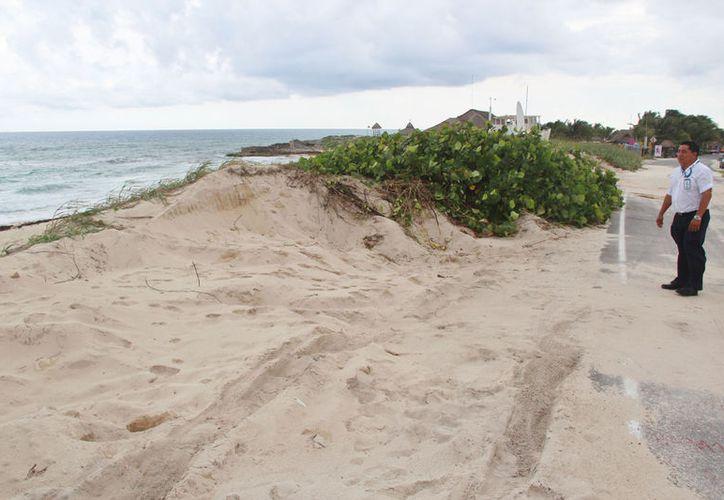 A mediados de octubre del 2014, se documentó y denunció el primer saqueo en las dunas. (Foto: Gustavo Villegas)