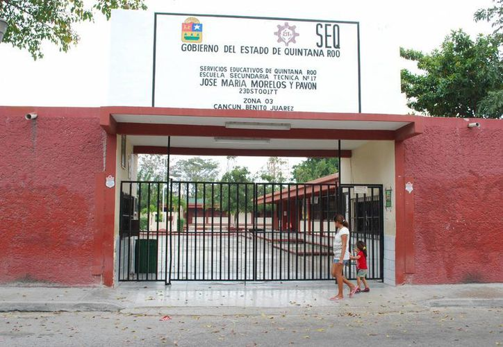 Atenderán a estudiantes de 31 secundarias en Benito Juárez. (Tomás Álvarez/SIPSE)