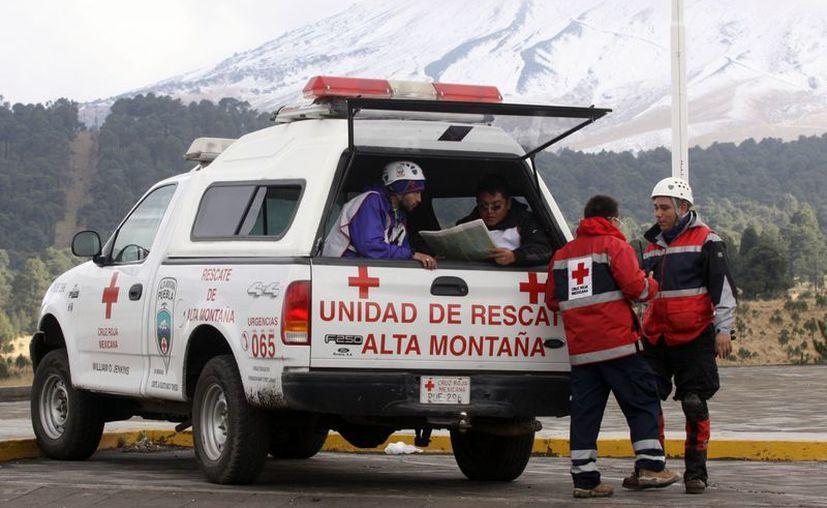 La búsqueda fue coordinada por Protección Civil del estado de Puebla. (Notimex)