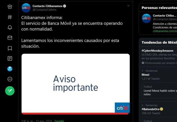 Los usuarios manifestaron su disgusto en twitter con la tendencia #SPEI. (Agencia Reforma)