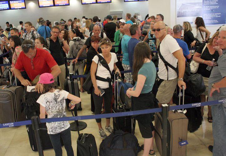 El Aeropuerto Internacional de Cancún debe estar preparado. (Ivette Ycos)