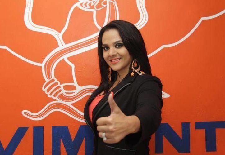 Claudia Casas logró obtener seis mil 538 votos como candidata de Movimiento Ciudadano. (frontera.info)
