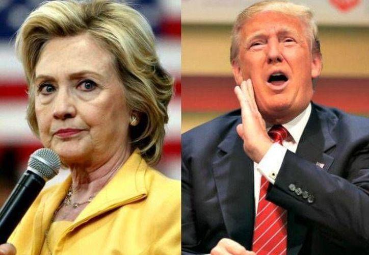 Casi un 20 por ciento de los probables votantes de Estados Unidos siguen sin definir si su voto será para Hillary Clinton o Donald Trump.  (Archivo AP)