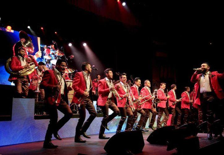 La Banda El Recodo durante una presentación en Madrid, España.  (Archivo/Notimex)