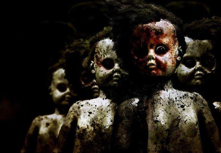 Se han registrado varios casos de muñecos que se mueven solos. (Jorge Moreno/SIPSE)