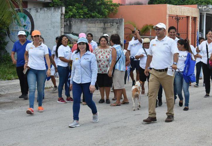 """La candidata a diputada federal por el Distrito 04 de la Coalición """"Por Quintana Roo al Frente"""" afirma que legislará para garantizar oportunidades de desarrollo para todos. (Redacción/SIPSE)"""