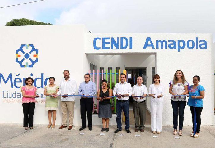 El Cendi Amapola ya cuenta con moviliario y material nuevos en beneficio de sus usuarios. (Cortesía)