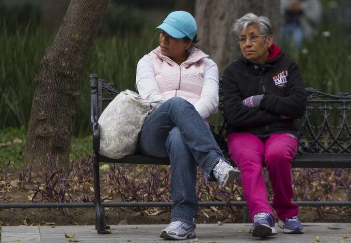 Autoridades piden prevenirse ante las bajas temperaturas que se registran en buena parte del territorio nacional. (Notimex)