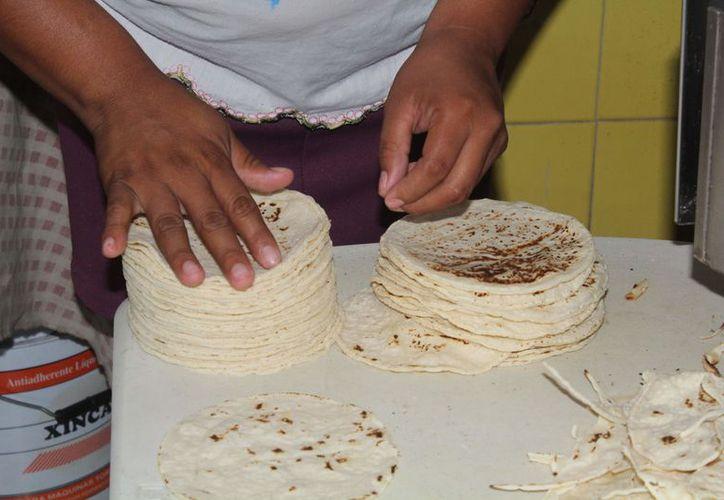 Los insumos para la elaboración de la tortilla aumentaron el costo. (Paola Chiomante/SIPSE)