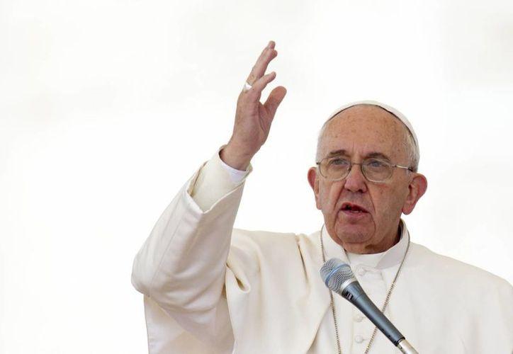 El Papa Francisco dijo que nuestra época es fuertemente marcada por el fenómeno migratorio. (Agencias)