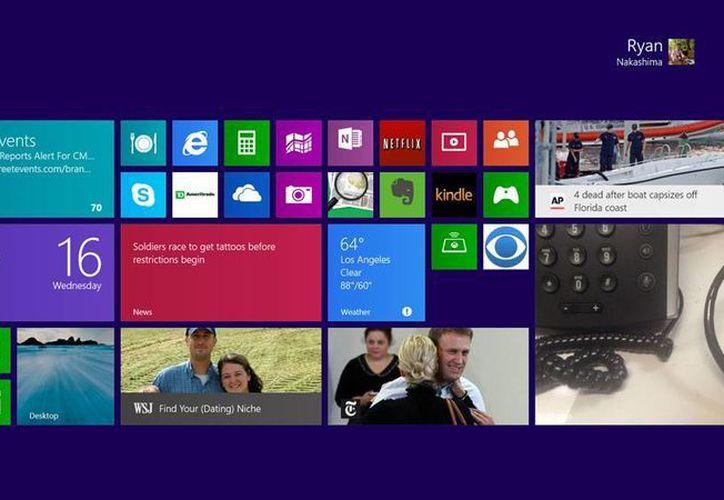 La actualización de Windows ya se puede adquirir en la tienda de aplicaciones. Las computadoras con la nueva versión salen a la venta mañana viernes 18 de octubre. (Agencias)