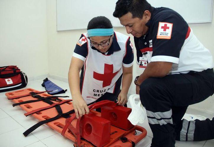 La Cruz Roja es una opción para que los niños y jóvenes se mantengan ocupado durante el verano, en actividades de apoyo. (Milenio Novedades).