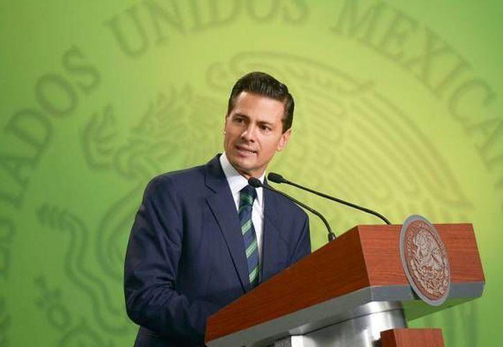 Peña Nieto entrega este jueves, como marca la ley, su informe de Gobierno ante el Congreso de la Unión. (Presidencia)