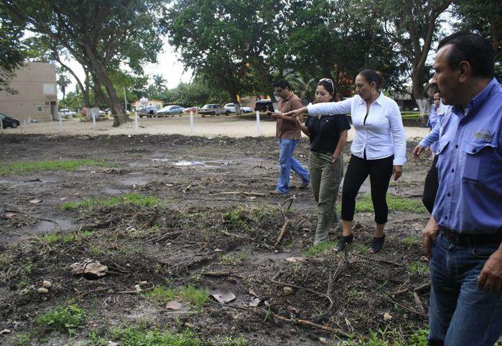 En la verificación participó la delegada de la dependencia federal, Ludivina Menchaca Castellanos. (Harold Alcocer/SIPSE)