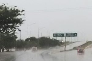 Lluvioso amanecer en Mérida
