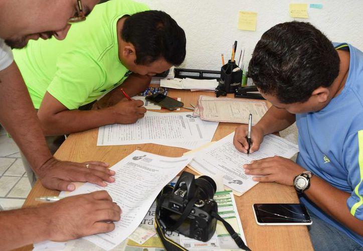 Periodistas de Cozumel levantaron una queja  ante Derechos Humanos en contra de la presidenta municipal, Perla Tun. (Gustavo Villegas/SIPSE)