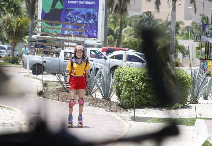 La serie 'Soy Luna' cuenta la historia de una niña que nace y vive sus primeros años en Cancún. (Israel Leal/SIPSE)