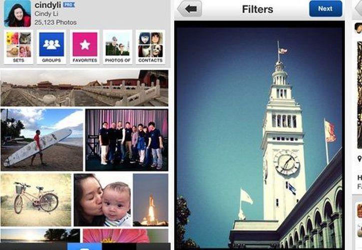 La nueva aplicación pretende que Yahoo! recupere terreno en el mundo de la fotografía. (www.wayerless.com)
