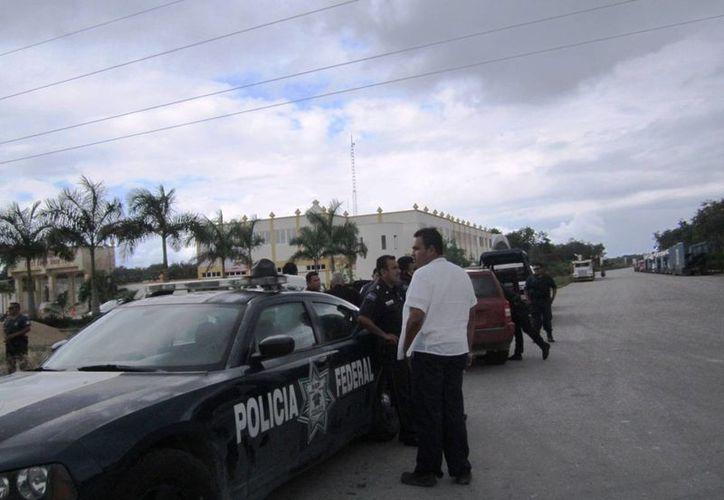 Las autoridades municipales trabajarán en coordinación con las estatales y federales durante el operativo decembrino. (Rossy López/SIPSE)