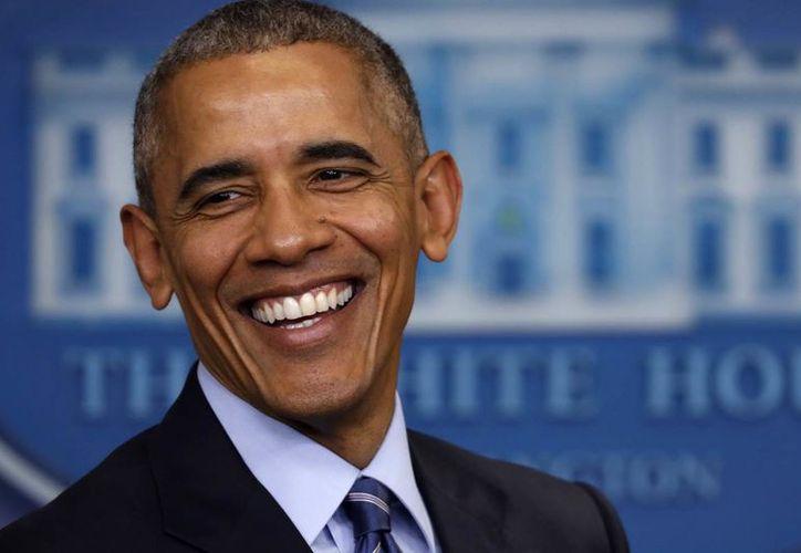 Barack Obama, ex presidente de Estados Unidos se distingue por un estilo sobrio y muy pulcro. (Contexto/ Internet)