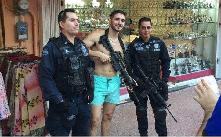 Hasta el momento, se ignora la identidad de los elementos policíacos. (SDP noticias)
