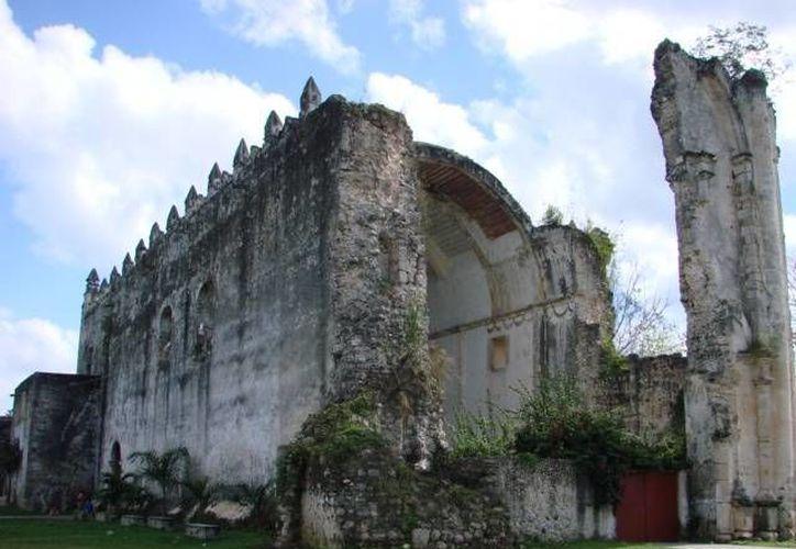 La iglesia de Tihosuco es uno de los edificios más emblemáticos de la comunidad. (Manuel Salazar/SIPSE)