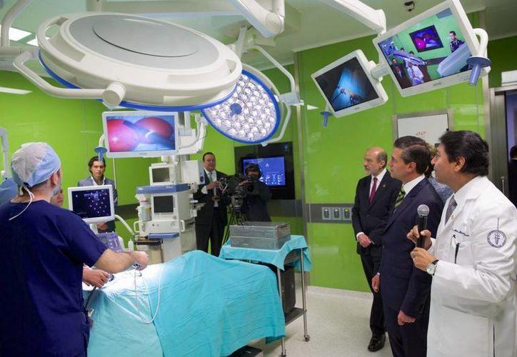 La nueva instalación del Incan incrementa en 58 % la capacidad de atención a enfermos de cáncer. (presidencia.gob.mx)