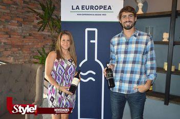 Presentación de vinos argentinos