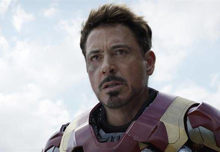 Robert Downey Jr. está a punto de llegar a las pantallas en su papel de  Iron Man compartiendo protagonismo con nuevos personajes de la factoría Marvel como Spider-Man y Black Panther. (EFE)