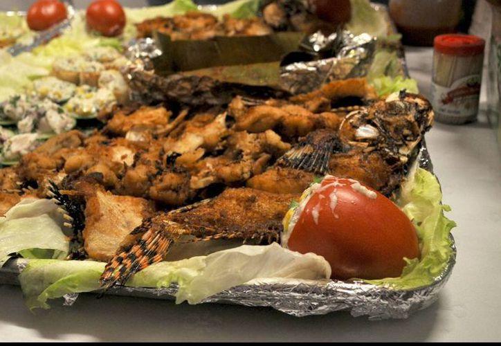 El próximo domingo se realizará una muestra gastronómica que pretende promover el consumo de pez león.  (Redacción/SIPSE)