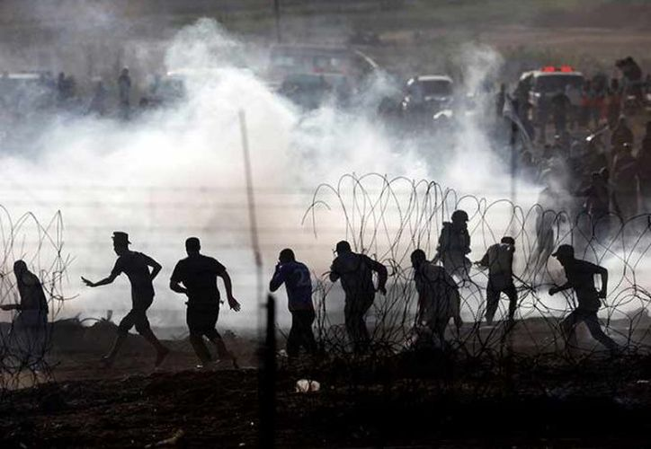 Al menos 115 manifestantes palestinos han muerto. (AP)