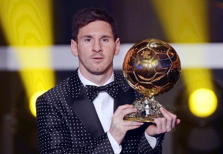Messi se convirtió este lunes en el máximo ganador del Balón de Oro. (Foto: Agencias)