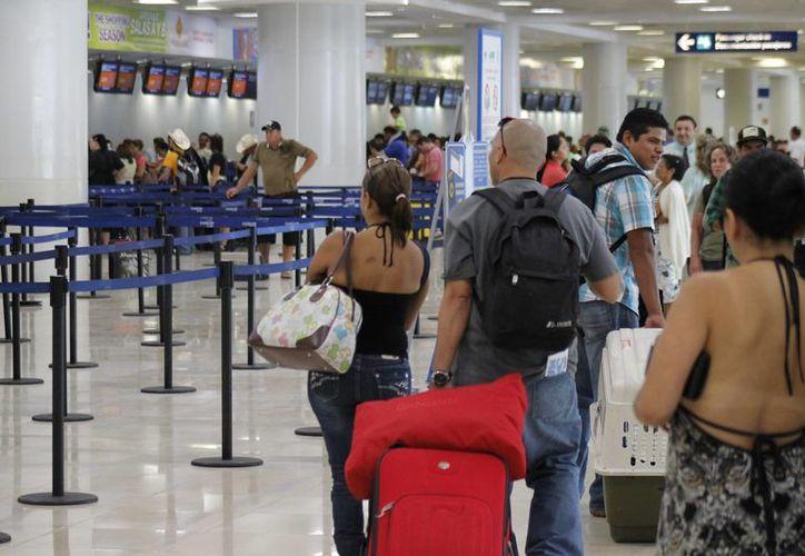 Los turistas tendrán vuelos directo a este centro turístico. (Israel Leal/SIPSE)