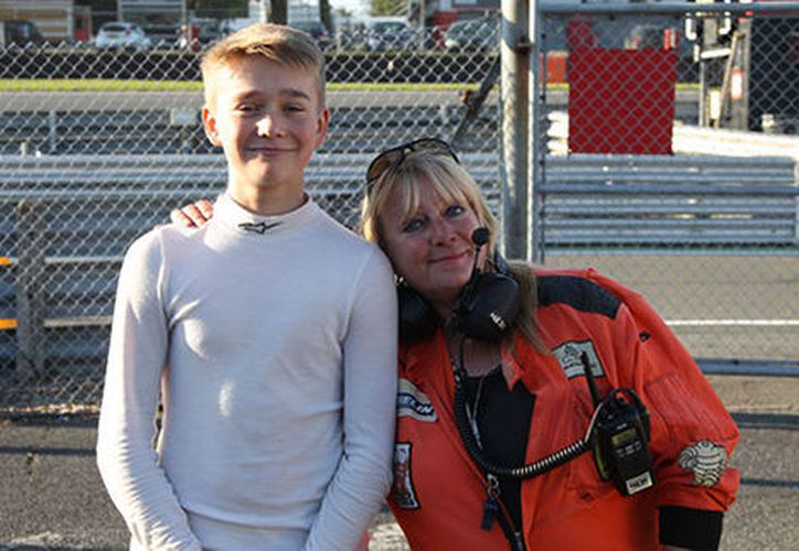 Billy Monger, piloto de la Fórmula 4 sufrió el pasado domingo un fuerte accidente en Donington Park. (JHR Developments).