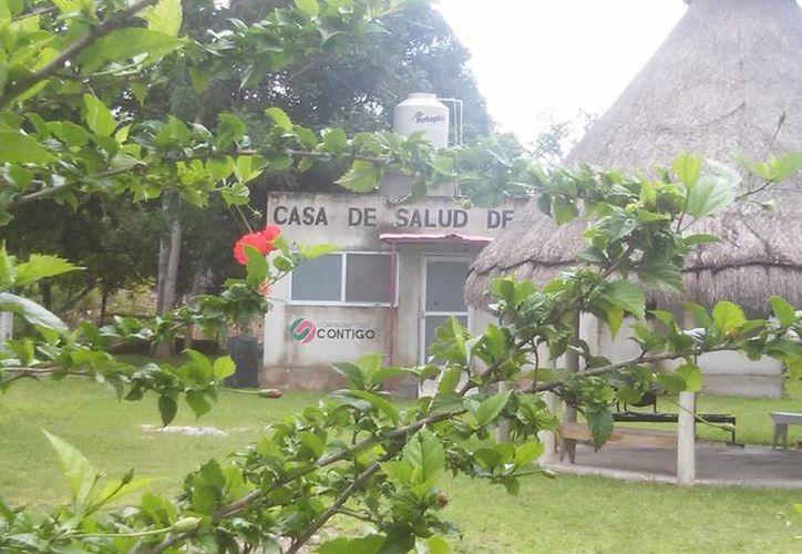 A pesar de que la comunidad cuenta con un Centro de Salud, carecen de médicos que atiendan a más de mil 200 familias que viven en la zona. (Carlos Castillo/SIPSE)