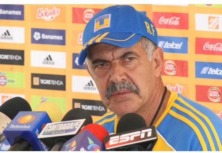 El DT de Tigres confesó que no le interesa dirigir en un futuro al representativo nacional. (tigres.com.mx)