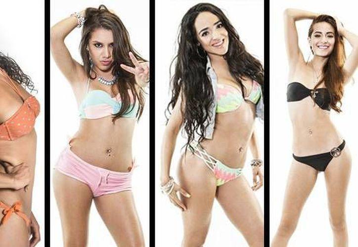 Estas son las chicas de Acapulco Shore, que comenzó anoche. (cochinopop.com)