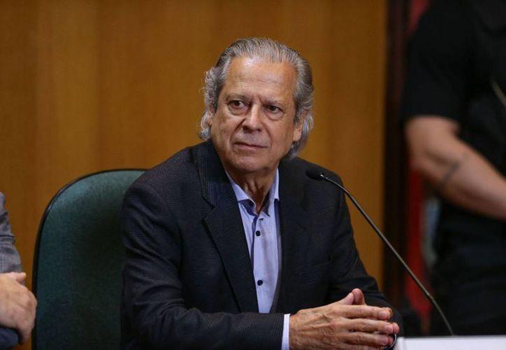 Jose Dirceu fue jefe de gabinete durante la presidencia de Luiz Inácio Lula da Silva en Brasil. Hoy fue condenado a 23 años de cárcel. (diariodopoder.com.br)