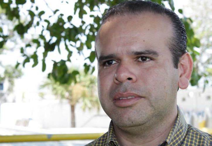 Luis Roldán Carrillo irá por el Distrito VII de Solidaridad. (Adrián Barreto/SIPSE)