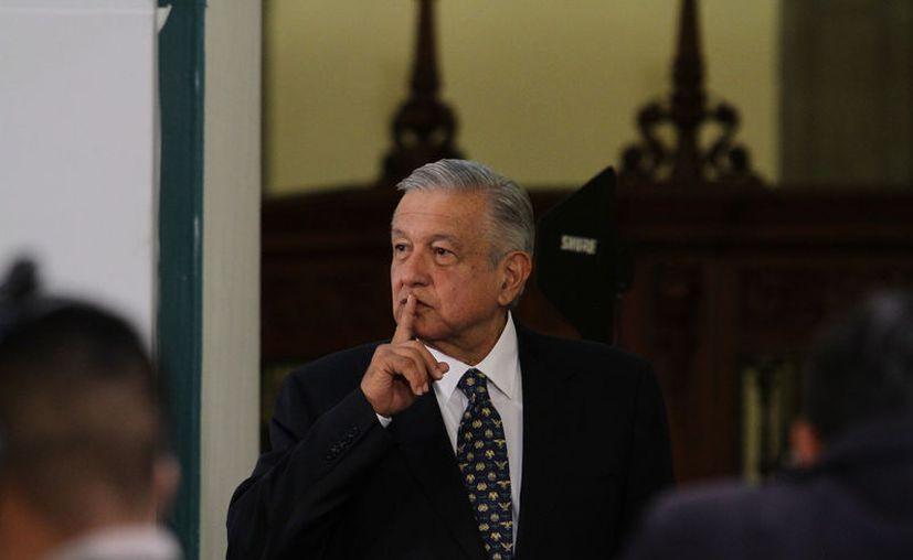 López Obrador rechazó diferencias entre Urzúa y Raquel Buenrostro. (Foto: Notimex- Guillermo Granados)