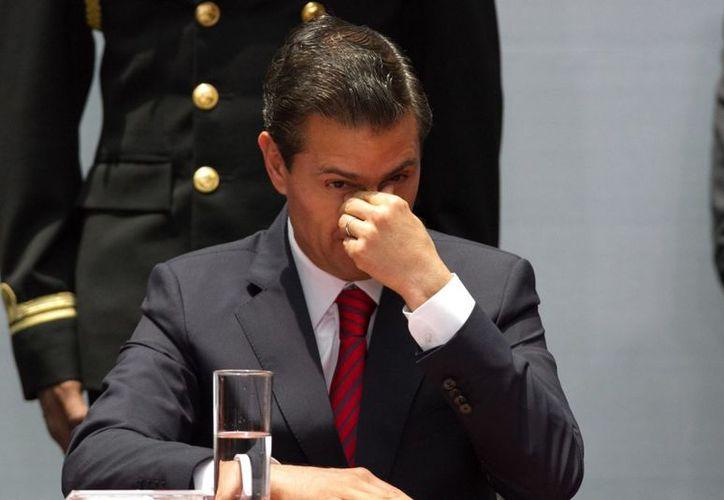 Peña aseguró  que como presidente de la República, privilegió siempre el diálogo, el entendimiento y el acuerdo. (Cuarto oscuro)