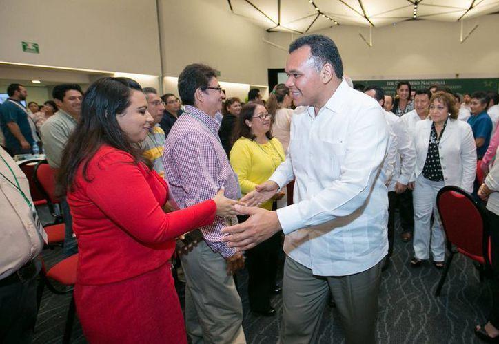El gobernador de Yucatán, Rolando Zapata, estará este sábado en las instalaciones del CRIT y en la X Región Militar. (SIPSE)