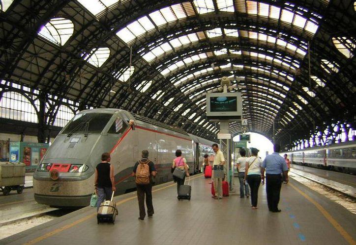 Las operaciones de la central de trenes de Milán fueron suspendidas por una falsa alarma de bomba. (2747.com)