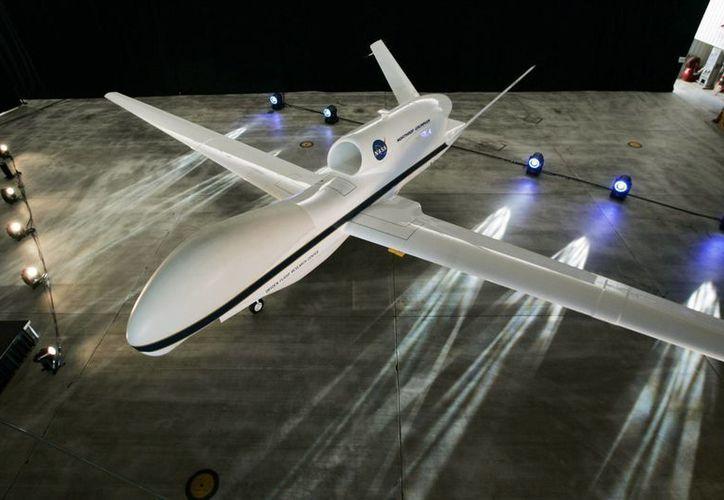 Imagen de archivo sin datar de un avión espía estadounidense Global Hawk. (Archivo/EFE)
