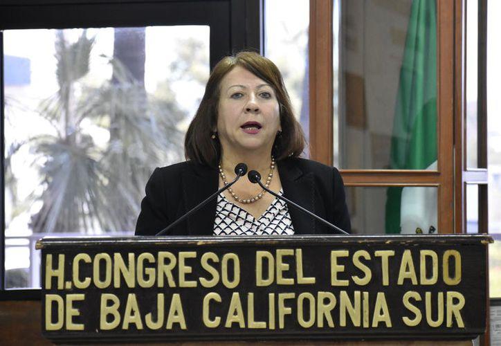 Mercedes Maciel Ortiz, diputada del PT. (Agencia Reforma)