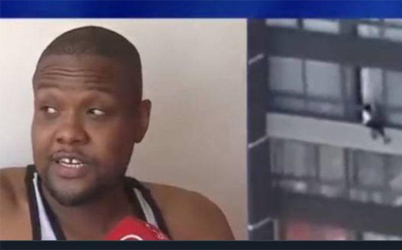 Haitiano héroe: ¡Salvó a mujer que se intentaba suicidar!