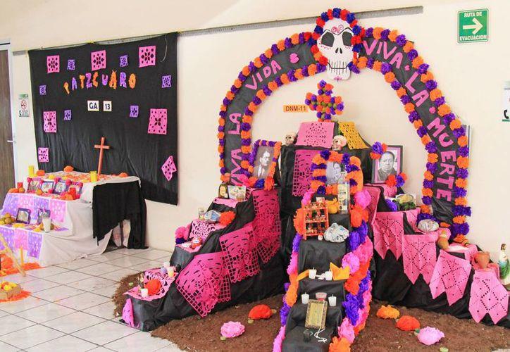 Se exhibirán altares que realizaron los alumnos. (Jesús Tijerina/SIPSE)
